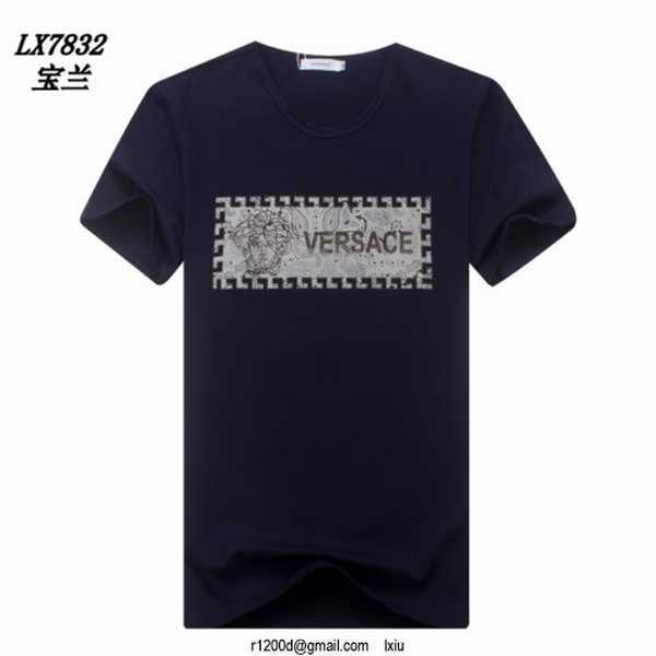 t shirt versace rouge t shirt de marque pas cher en gros t. Black Bedroom Furniture Sets. Home Design Ideas