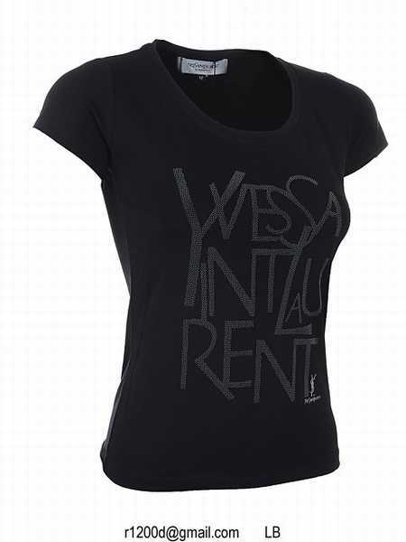 T shirt yves saint laurent femme en ligne t shirt yves for Saint laurent paris t shirt
