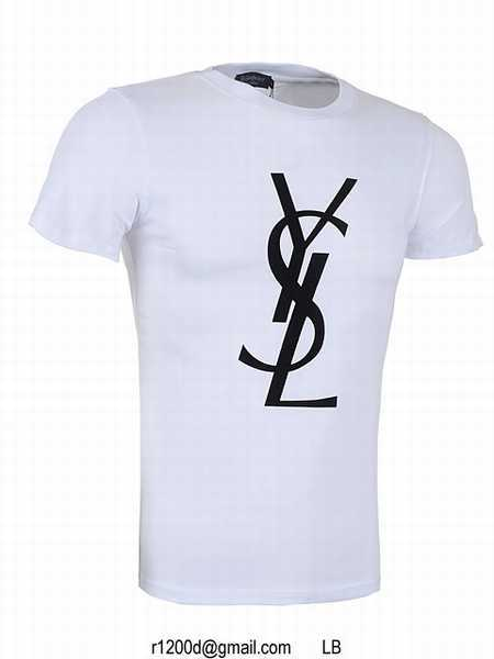 Achat t shirt yves saint laurent homme t shirt yves saint for Who sells ysl t shirts