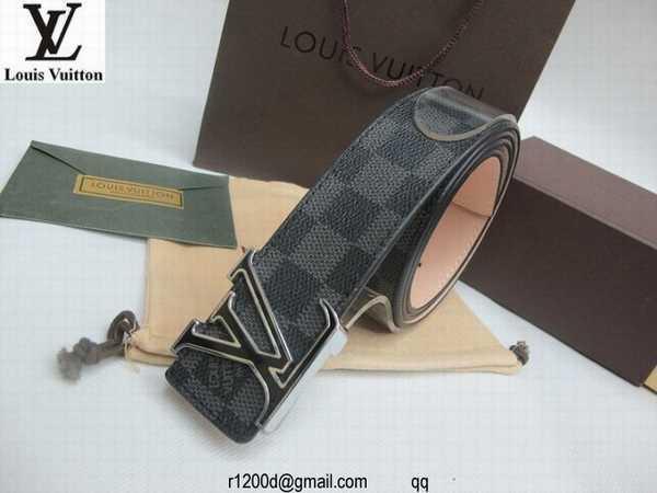 Ceintures Louis Vuitton Homme