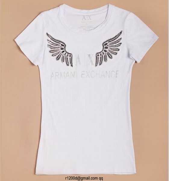 c7f9ebe7712 t shirt emporio armani femme