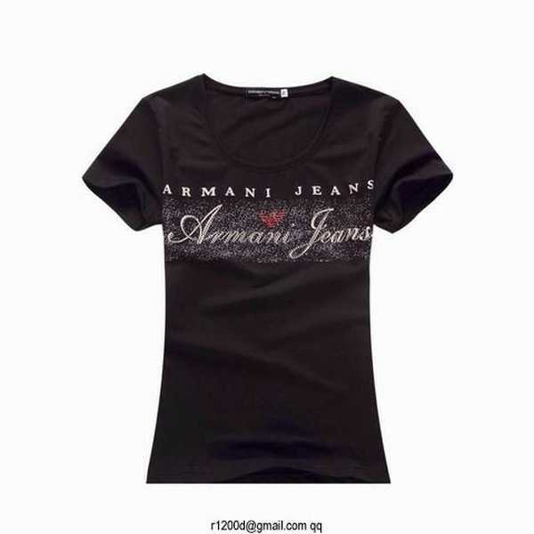 tee shirt femme pas cher mode tee shirt armani pour femme. Black Bedroom Furniture Sets. Home Design Ideas