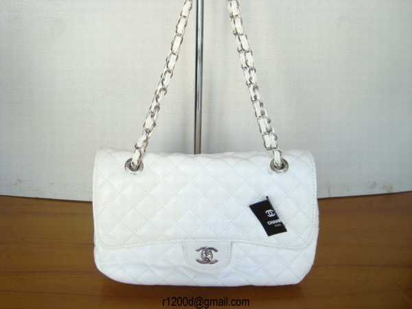 vends sac chanel blanc sac a main pour femme chanel sac de luxe cuir. Black Bedroom Furniture Sets. Home Design Ideas