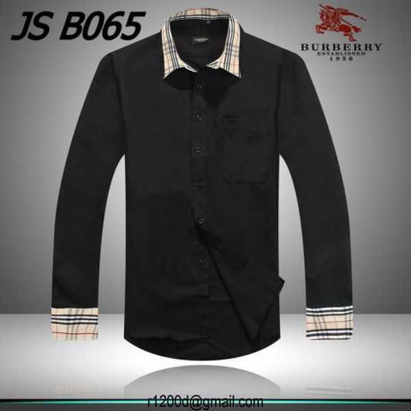 Vente en ligne chemise burberry homme chemise grande marque discount chemise - Vente en ligne discount ...