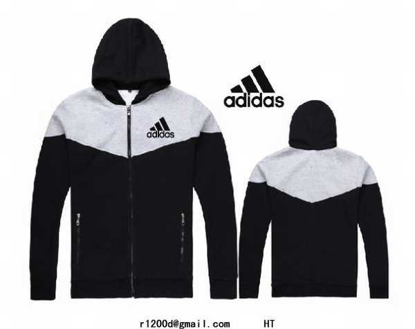 sweat Imitation Blanc sweat Capuche Sweat Shirt Zippe Adidas xFgqwUZSBU