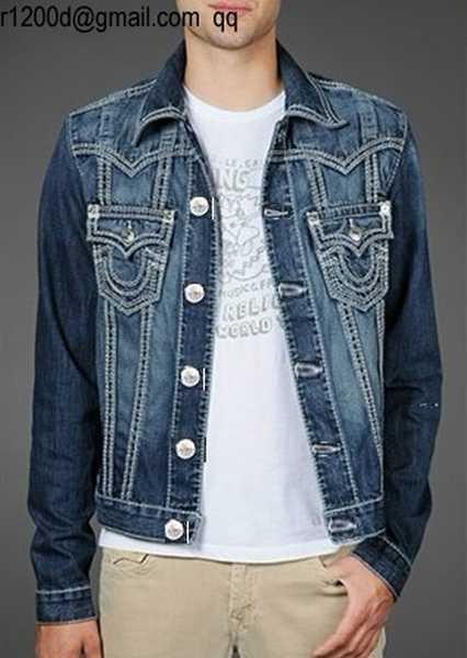 veste jean homme pas cher achat veste en jean homme veste. Black Bedroom Furniture Sets. Home Design Ideas